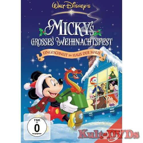 mickys grosses weihnachtsfest dvd walt disney. Black Bedroom Furniture Sets. Home Design Ideas